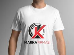 K Logo T-shirt Tasarımı