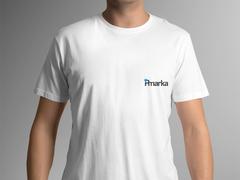 P Harf T-shirt Tasarımı