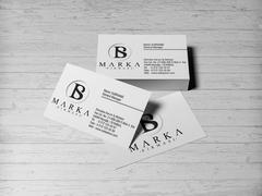 B ve S Logo Kartvizit Tasarımı