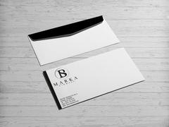 B ve S Logo Zarf Tasarımı