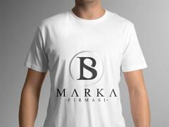B ve S Logo T-shirt Tasarımı