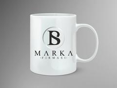B ve S Logo Mug Tasarımı