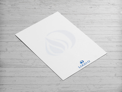 Alev ve O Harfi Logo Antentli K. Tasarımı
