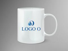Alev ve O Harfi Logo Mug Tasarımı
