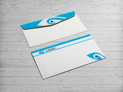 Göz Logo Zarf Tasarımı