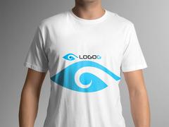 Göz Logo T-shirt Tasarımı