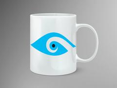 Göz Logo Mug Tasarımı