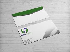 S Harfli Marka Firması Logo Zarf Tasarımı