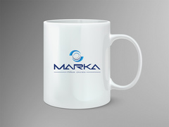 Daire Logo Mug Tasarımı