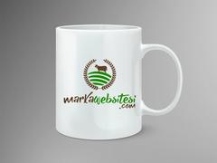 İnek Logo Mug Tasarımı
