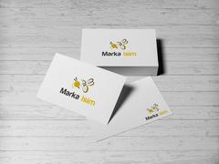 Arı ve İp Logo Kartvizit Tasarımı