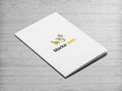 Arı ve İp Logo Zarf Tasarımı