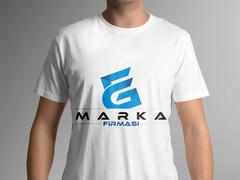E ve G Harfli  Logo T-shirt Tasarımı