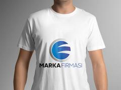 E ve G Harfli Marka Firması Logo T-shirt Tasarımı