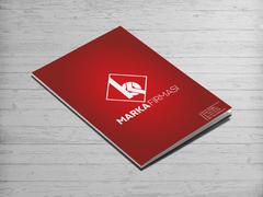 B ve K Harfi Logo Dosya Tasarımı