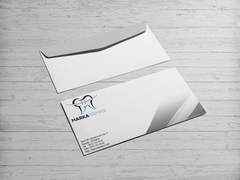 Diş  Logo Zarf Tasarımı