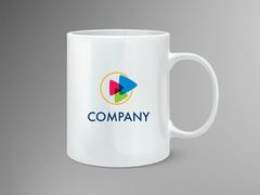 Play Logo Mug Tasarımı