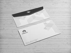 Küp Logo Zarf Tasarımı