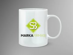 SB Logo Mug Tasarımı