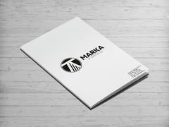 T ve A Harfli Logo Dosya Tasarımı