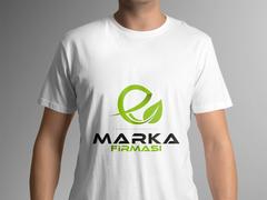 E Yaprak T-shirt Tasarımı