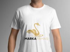 Kuğu Logo T-shirt Tasarımı