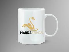 Kuğu Logo Mug Tasarımı