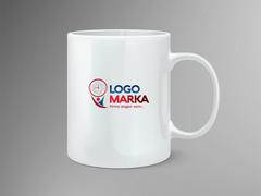 Saat Logo Mug Tasarımı