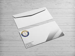 Çark Logo Zarf Tasarımı