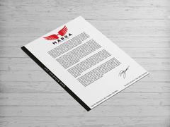 Melek Logo Antentli K. Tasarımı