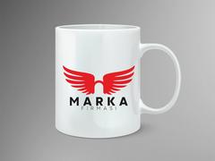 Melek Logo Mug Tasarımı