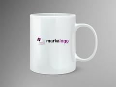 .com Logo Mug Tasarımı