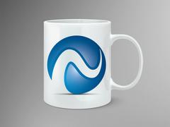 N logo Mug Tasarımı