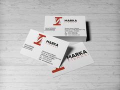 T Harfli Marka Logo Kartvizit Tasarımı