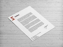 T Harfli Marka Logo Antentli K. Tasarımı