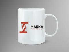T Harfli Marka Logo Mug Tasarımı