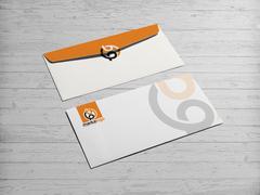 B ve P Logo Zarf Tasarımı