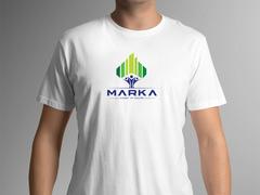 Ağaç Binalar T-shirt Tasarımı