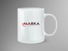 Yıldızlı Logo Mug Tasarımı