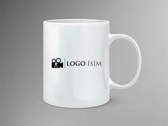 Kamera Logo Mug Tasarımı