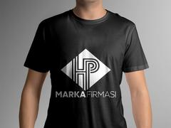 H ve P Logo T-shirt Tasarımı