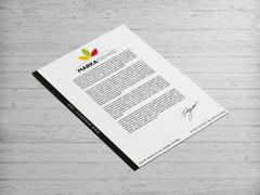 Yapraklar Logo Antentli K. Tasarımı