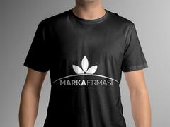 Yapraklar Logo T-shirt Tasarımı
