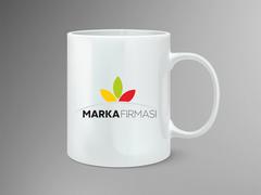 Yapraklar Logo Mug Tasarımı