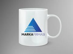 A Logo Mug Tasarımı