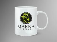 Elma Marka Logo Mug Tasarımı