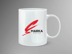 Ç Logo Mug Tasarımı