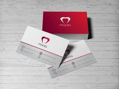 Kalp Logo Kartvizit Tasarımı