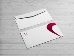 Kalp Logo Zarf Tasarımı