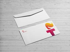 Meşale Logo Zarf Tasarımı
